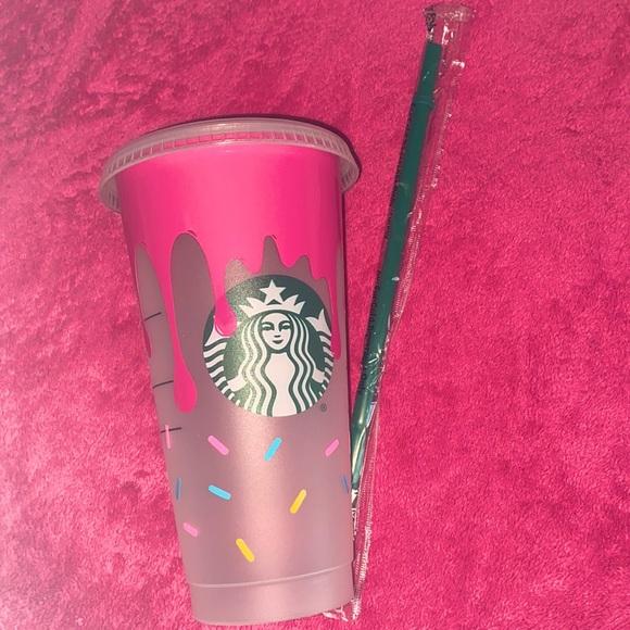 Starbucks ice coffee cup. 🧁 cupcake theme